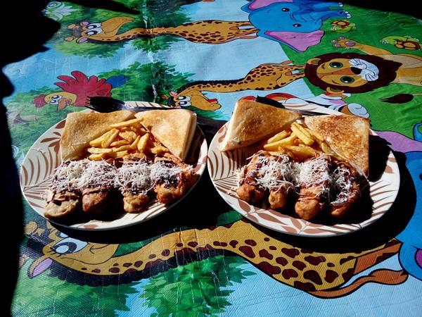 trekking rinjani menu breakfast