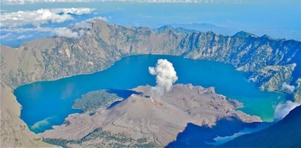 Mount rinjani trek Lombok