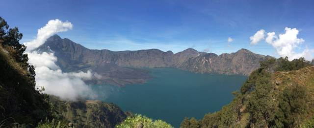 rinjani trek package
